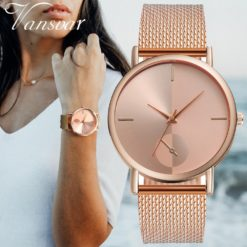 Women's Watch Brand with Leather Strap