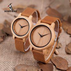Bobo Bird Bamboo Couple Watches