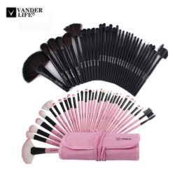 VANDER Makeup Professional Cosmetics Brush Sets 32Pcs with Pouch Bag