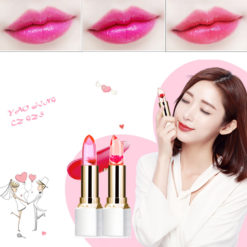 Flower Color Changing Long-lasting Lipstick