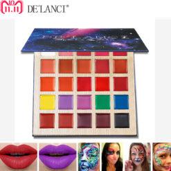DE'LANCI Multi Shade Lip Palette - 25 Colors