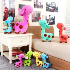 Cute Plush Giraffe Soft Animal Toys