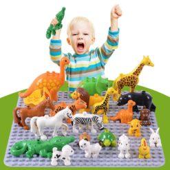 Duplos Animal Model Figures Big Building Block Sets