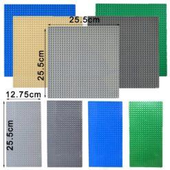 Kazi Classic Plastic Bricks Base plates 32*32 Dots