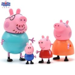 Peppa Pig George Guinea pig Family Action Figure Toys