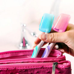 Portable Toothbrushes Head Cover Holder