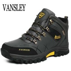 Mens Waterproof Snow Winter Lace Up Boots