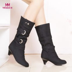 New Round Head Anti Slip Casual Boots