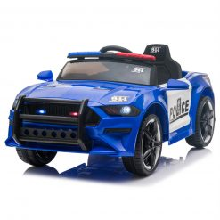 Kids Police Sports Car Blue